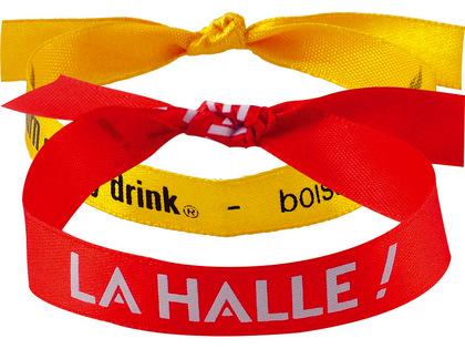 Bracelet en tissu personnalise belgique