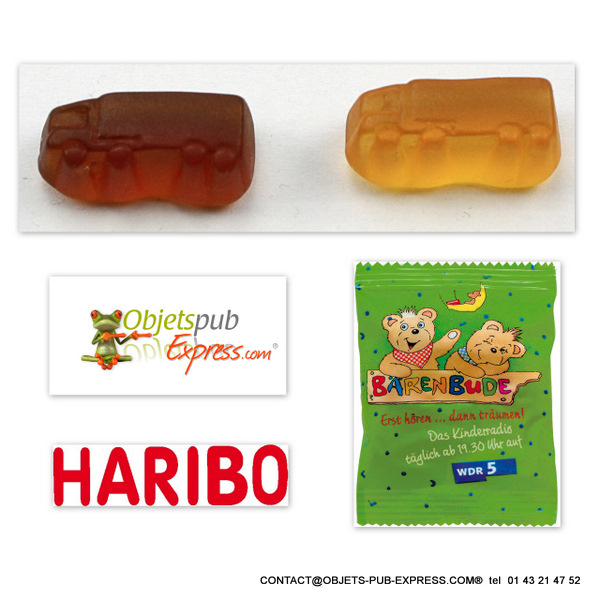 mini camion haribo gelifie en sachet promotionnel 15 gr objets publicitaires personnalis s. Black Bedroom Furniture Sets. Home Design Ideas