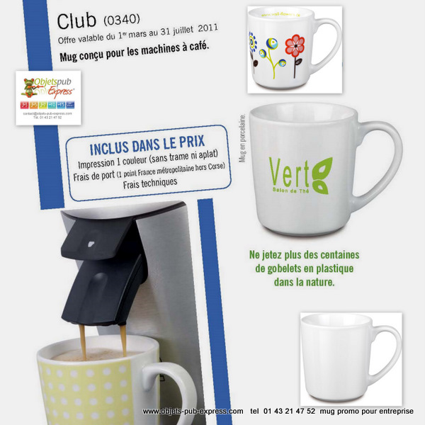 Discount mug coupon