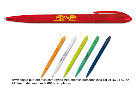stylo personnalisé spécialité societe OBJETS PUB EXPRESS®J+3 J+5 J+7  (1)