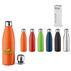 BOUTEILLE THERMOS SWING 500ML Express Green Objets Pub Express®