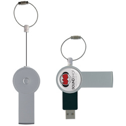 CLE USB SAFETY AVEC ATTACHE CORDON RETRACTABLE Clés Usb publicitaires Objets Pub Express®