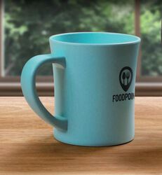 ENOUGH-T MUG BIOPLASTIQUE 60% BLÉ 40% PP Express Green Objets Pub Express®