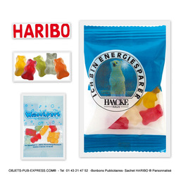OURSON HARIBO ® SACHET PROMO 10 GR High Tech Objets Pub Express®