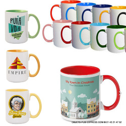 MUG BICOLORE EN EXPRESS  24H 48H 72 H PRODUCTION  Objets Pub Express®