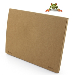POCHETTE CARTON RECYCLE Express Green Objets Pub Express®