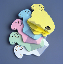 BLOC POST-IT®  DECOUPE Papeterie Personnalisable  Objets Pub Express®