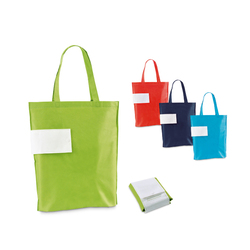 PACK PROMO SAC  SHOPPING PLIANT PUBLICITAIRE  NON TISSE  THERMO SCELLE 300 EX  Objets Pub Express®