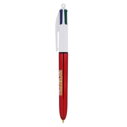 BIC® 4 COULEURS METALLISE SHINE  ► ICONE DE MARQUE ► Made In France Objets Pub Express®