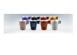 TASSE EXPRESSO SET DE 4  VERRE METALLISÉ Made In France Objets Pub Express®