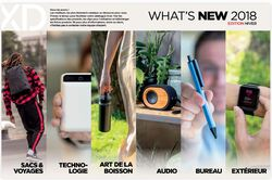 XD DESIGN WHAT'S NEW 2018 - EDITION HIVER OBJETS PUBLICITAIRES